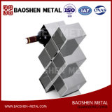 Wine Cabinet/Shelf Home Decoration Exquisite Made Stainless Steel Sheet Metal Fabrication Direct From Manufacture