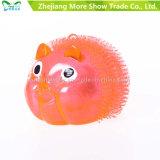 Novelty Colorful Puffer Yoyo Piggy Toys Light up Ball