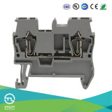 Electric Wiring Spring Terminal Block Jut3-1.5 Dinrail Cable Connecor