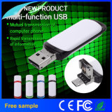 Portable Plastic 2in1 USB Flash Drive with Personalized Logo