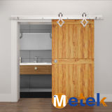 Nickel Plated Wooden Hardware Sliding Barn Door Interior Sliding Door Track