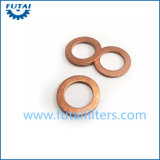 Copper Round Gaskets for Spinning Yarn