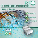 Rph-80 PP Synthetic Paper for Offset Screen Printable Dm Poster