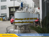 Steam Heating Mixing Tank for Milk 1000liter