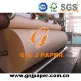 80GSM Virgin Brown Craft (Kraft) Paper in Roll in China