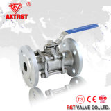 Pn16 Stainelss Steel 3PC Flanged Ball Valve