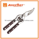 Drop Forged Bypass Pruning Shear with Wood Handles