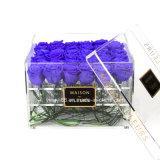 Custom High Quality Plastic Acrylic Flower Packaging Box