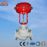 Pneumatic Globe Control Valve with Single Seat