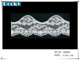Guangzhou Manufacture Elastic Lace Trim for Bra