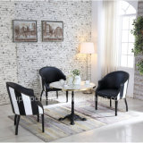 Upscale Steel Edge Table and Leisure Armchair for Restaurant (SP-CT840)