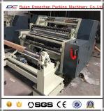 Adhesive Paper Sticker Roll Slitting and Rewinding Machine (DC-FQJ)