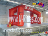 Durable Inflatable Entrance Arch for Advertisement