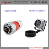 Electrical Connector Male Quick Connector Cnlinko 5pin Waterproof Connector IP67