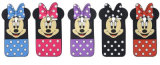 Minnie Mouse Silicone Phone Cases for iPhone 6 6splus 7 7plus A5 A7 2017 (XSD-001)
