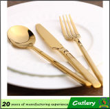Stainless Steel Gold Plated Cutlery Set
