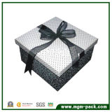Exquisite White and Black Paper Chocolate Packing Box