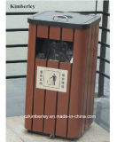 Environmental-Protecting Wooden Plastic Composite WPC Trash Can