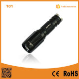 101 Military Quality Flash LED Light Rechargeable 10W 500 Lumen Aluminum Flash Torch LED Touch Light