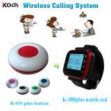Digital Watch Wireless Waiter Call Button Systems