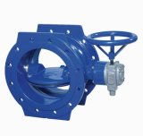 Double Eccentric Flange Butterfly Valve- Soft Seal Butterfly Valve