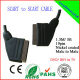 100% Tested 1.5m 19pin Scart Connections (SY020)