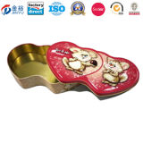 Heart Shape Musical Tin Case for Valentine Day