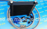 Aluminum Universa 10rows Dull Black Super Car Engine Oil Cooler