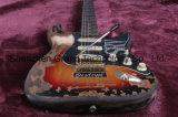 Srv DIY Guitar Kit / Relic Srv Electric Guitar with Alder Body (SRV-1)