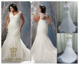 Wedding Dresses Plus Size Lace Beading Bridal Dress