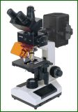 Fluorescent Microscope with CCD and Camera
