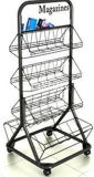 Beverage Soda Pop Wire Metal Stand in 4 Levels