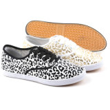 Leopard Printing Low Cut Canvas Shoe/Casual Shoes/Leisure Women Sneakers