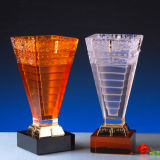 Fashion Crystal Glass Trophy for Souvenir