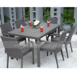 Mtc-002 Outdoor Rattan Furniture Dining Set 6 Seater