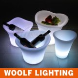 Illuminated LED Hotel Restaurant Decorative Flower Vase