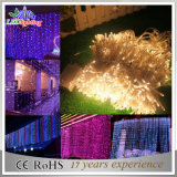 Colorful Outdoor Holiday LED Christmas Decoration White Curtain Light