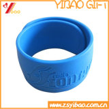 Custom Cheapest Slap Silicone Wristbands for Gifts (YB-SM-04)