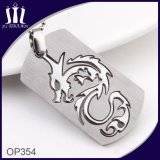 Dragon Shape 2PCS Combine Cut out Pendant