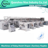 Full Servo Automatic Lady Ultra-Thin Sanitary Napkin Machinery with Ce Certification