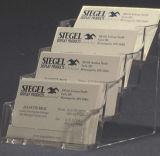 Desk Acrylic Name Cards Holder