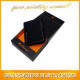 Matt Black Cardboard Paper Wallet Gift Box