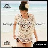 Bat Sleeve Handmade Crochet Beachwear Bathing Suit Cover up