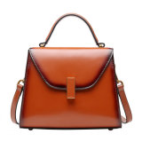 Women Genuine Leather Handbag Antique Cow Skin Hand Bag
