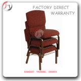 Stacking Red Communion Church Sitting Chairs (JC-57)