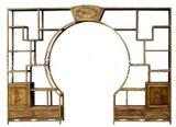 Antique Chinese Furniture Display Shelf-2PCS