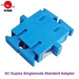 Sc Duplex Singlemode Standard Plastic Fiber Optic Adapter