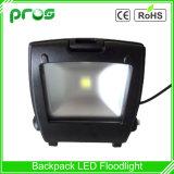 110lm/W Waterproof LED Floodlight 30W Black Backpack