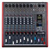 Professional Audio 8 Channels LED Mixer