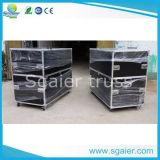 Aluminum Machine Case with Movable Separate Board